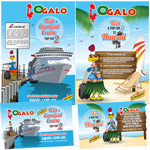 Ogalo website, Competition Posters and Competition Entry Forms