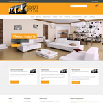 Viaduct Imports e-commerce website and branding